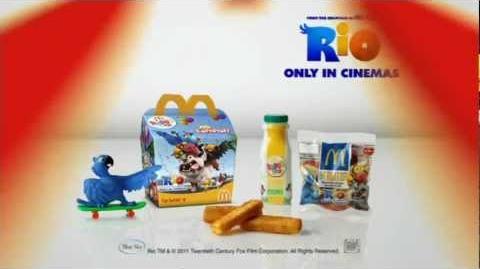 McDonalds - Rio Carnival - Hornet Inc. Blue Sky
