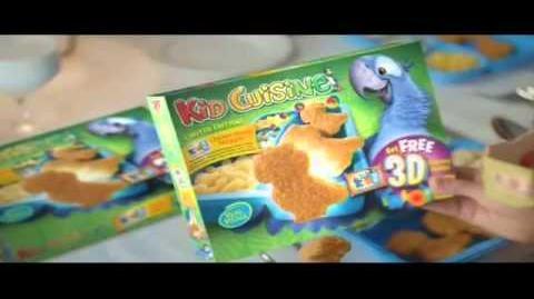 Kid Cuisine Rio 2 TV Commercial
