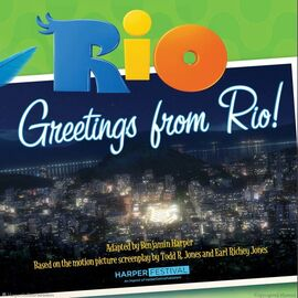 Rio Book Greetings from Rio (2)