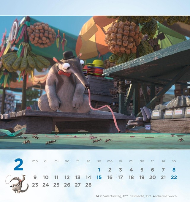 Charlie Calendar