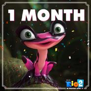 Rio 2 1 Month