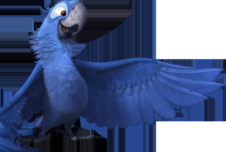 cartoon blue bird rio