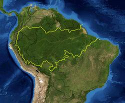 Границы Амазонки