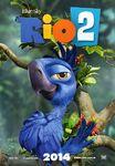 Rio 2 Poster ft Tiago