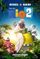 Rio 2 Nigel Gabi Latin America Promo Poster