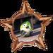 Bronze Badge Scaredy Bird