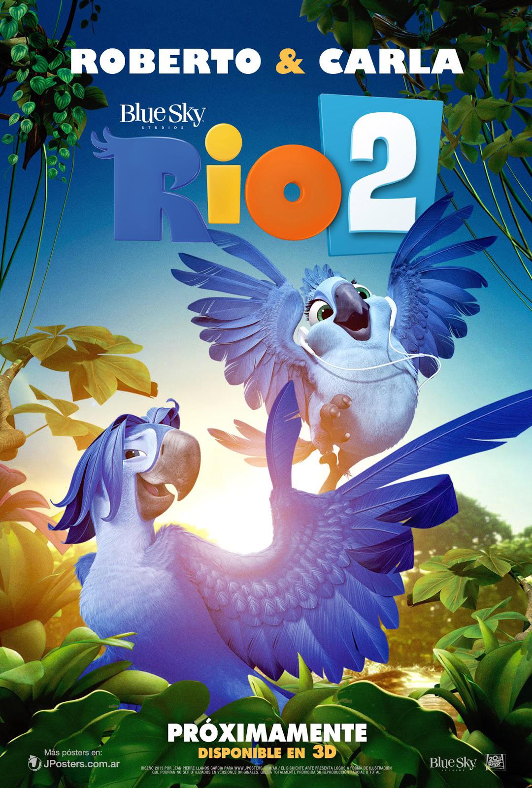 image - rio 2 poster individual latino g jposters   rio wiki