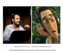 Rodrigo Santoro as the voice of Tulio