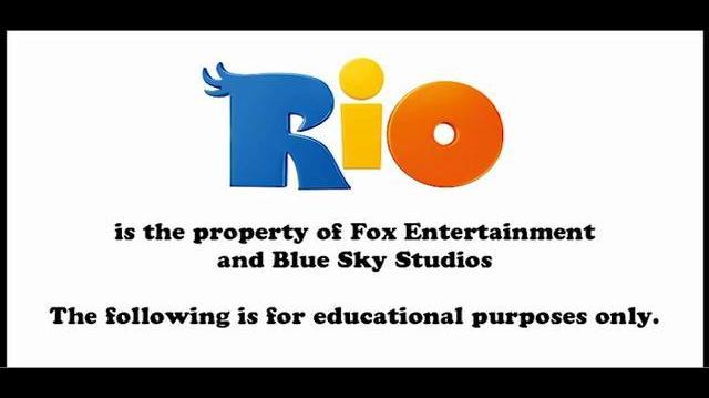 "Lluis Llobera - ""Rio"" animation reel"