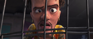 Rio (movie) wallpaper - Marcel in shock of Macaws' Dissappearance