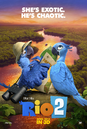 Rio 2 Blu and Jewel poster