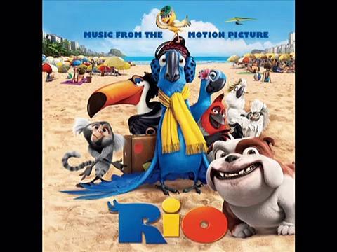 Rio Soundtracks 02 ♫♫♫ - Let Me Take You to Rio (Blu's Arrival) - Ester Dean & Carlinhos Brown