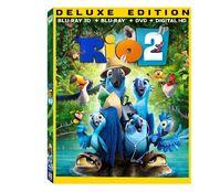 Rio 2 Blu ray 3d