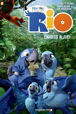 Rio Snakes Alive! Graphic Novel