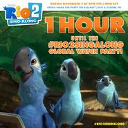 1 hour Rio 2 sing-along