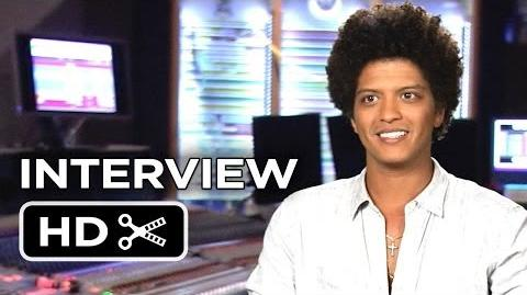 Rio 2 Interview - Bruno Mars (2014) - Animated Sequel Movie HD