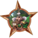 Bronze Badge Funky Monkey