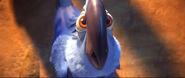 Blu is speechless