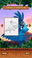 Rio coloring image 2