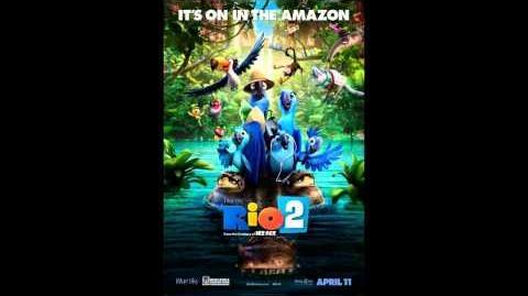Rio 2 Soundtrack - Track 8 - Batucada Familia by Carlinhos Brown, Jamie Foxx, Rachel Crow