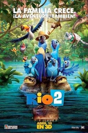 Río 2 poster ver6
