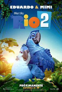 Rio 2 Poster Latin America ft Mimi Eduardo