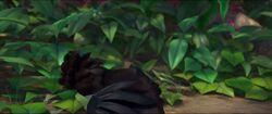Рафаэль целуется с Евой