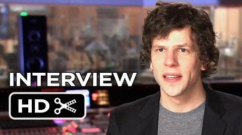 Rio 2 Interview - Jesse Eisenberg (2014) - Animated Sequel Movie HD