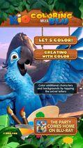 Rio coloring imag 1