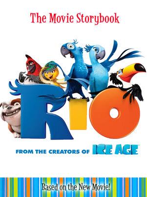 Rio The Movie Storybook-Hardcover