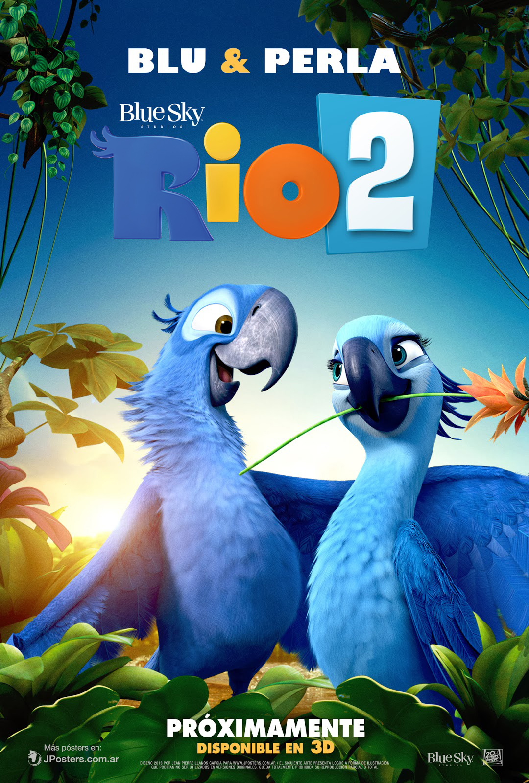 image - rio 2 poster individual latino c jposters   rio wiki