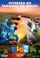 Rio 2 Brazil Poster