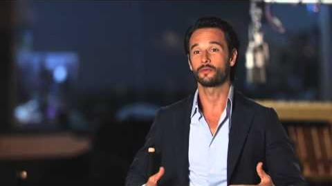 """Rio 2 Rodrigo Santoro """"Tulio"""" On Set Movie Interview"""