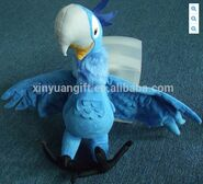Blu china plush