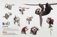 Sloth by oli