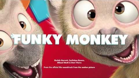 Music track 1 - Funky Monkey (main dance)