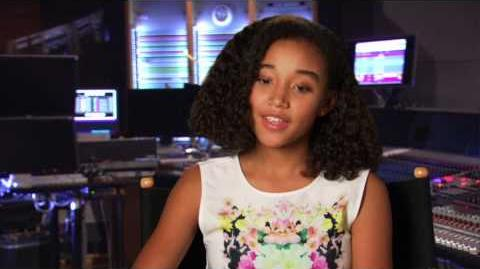 "Rio 2 Amandla Stenberg ""Bia"" On Set Movie Interview"