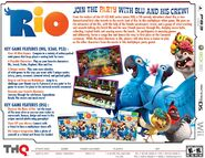 Rio video game fact Sheet