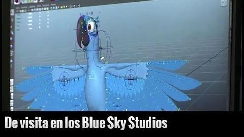 Cine PREMIERE visita los estudios Blue Sky para hablar de Río 2