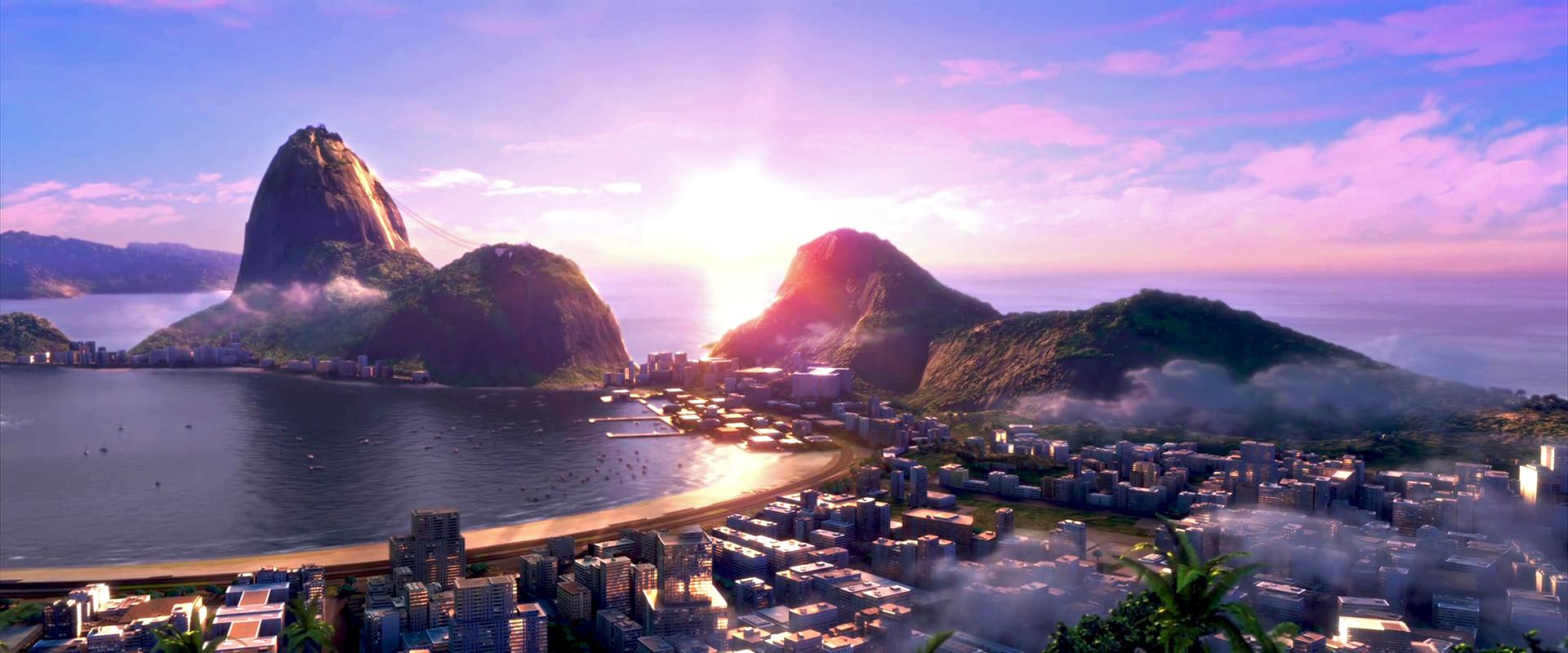image - rio (movie) wallpaper - scenic view of rio de janeiro