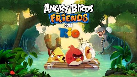 New! Angry Birds Friends Goes Rio Tournament!
