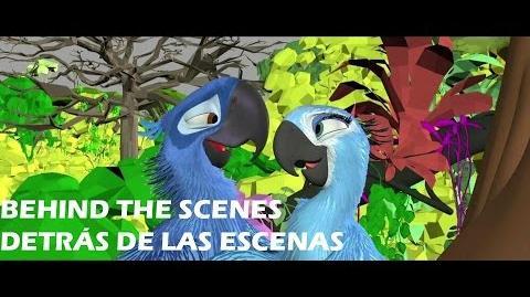 Behind The Scenes On The Making Of Rio 2 Detrás De Las Escenas de Animación de Rio 2