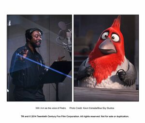 Will.I.Am as the voice of Pedro