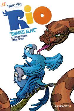Rio Book Snake Alive
