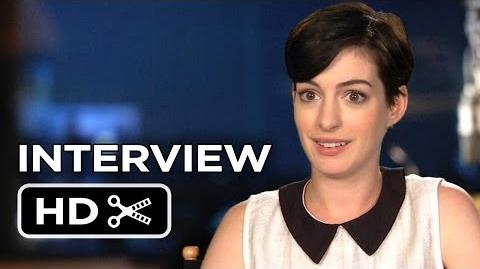 Rio 2 Interview - Anne Hathaway (2014) - Animated Sequel Movie HD