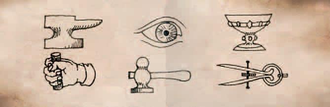 Symbols in Van Helsings Journal