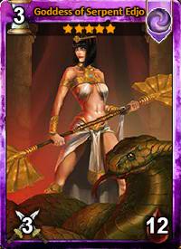 Goddess of Serpent Edjo
