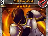 Cull the Weak