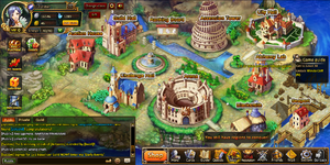 Rise of Mythos town