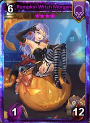 Pumpkin Witch Morgana